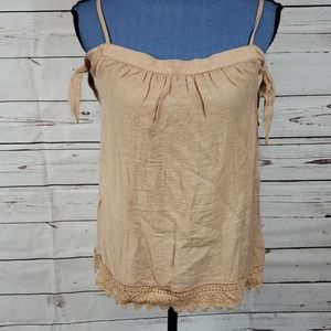 NWT Brown Off Shoulder Blouse by Mine